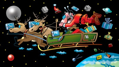 Weihnachtsmann Stefan Bayer pixelio